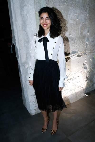 Fashion Week défilé Saint Laurent : la blogueuse Caroline Issa