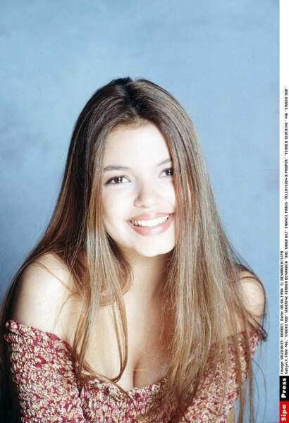 Séverine Ferrer dans les années 90