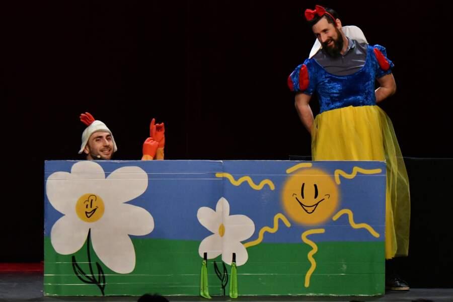 Les Décaféinés au 35ème festival Mont-Blanc Humour