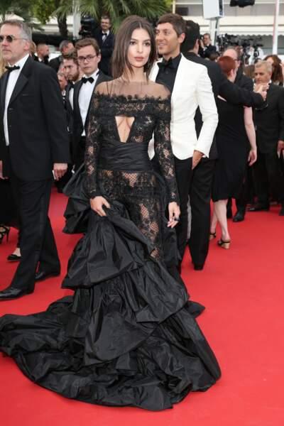 Festival de Cannes 2017 : Emily Ratajkowski