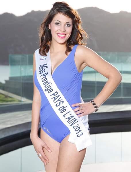 Laura NASSIA, Miss Prestige Pays de l'Ain