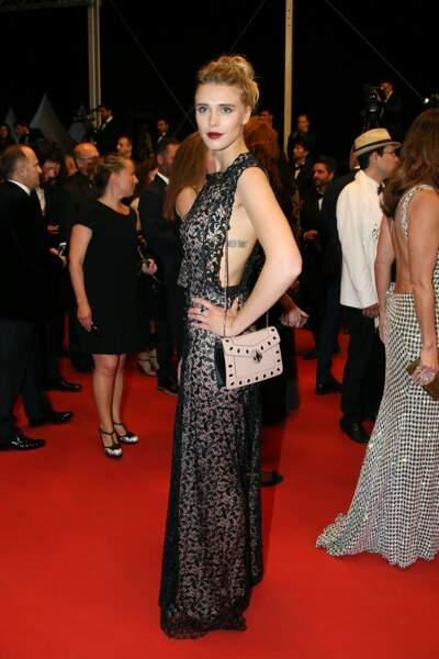 Festival de Cannes, les accidents de tenue les plus sexy - Gaia Weiss, profil numéro 1