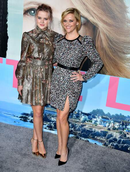 Reese Witherspoon et son mini-moi Ava Philippe : les reines du photocall