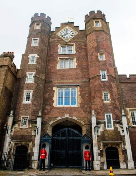 La chapelle de St James Palace