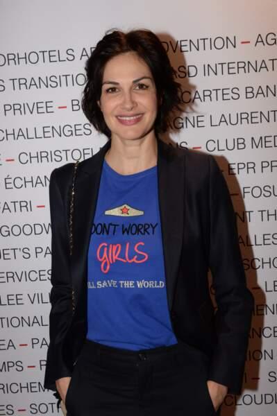 Helena Noguerra au Pavillon Gabriel à Paris le 8 mars 2019