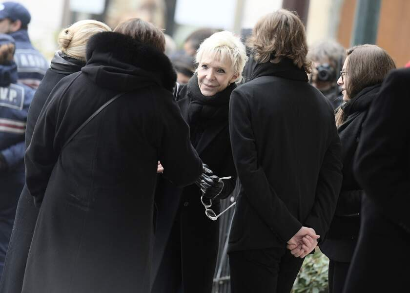 Obsèques de Michèle Morgan - Tonie Marshall
