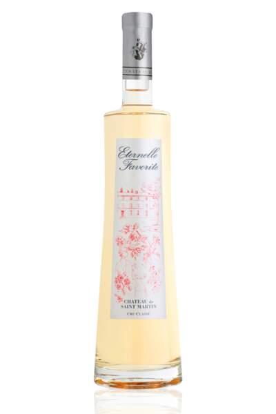 Rosé Eternelle Favorite 2015 , 75 cl, 18,90€, Château de Saint-Martin.