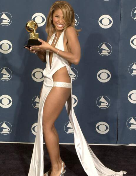 Toni Braxton a incontestablement la pire des robes