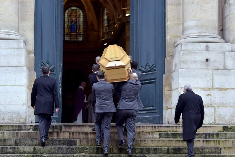 Les obsèques de Michel Galabru