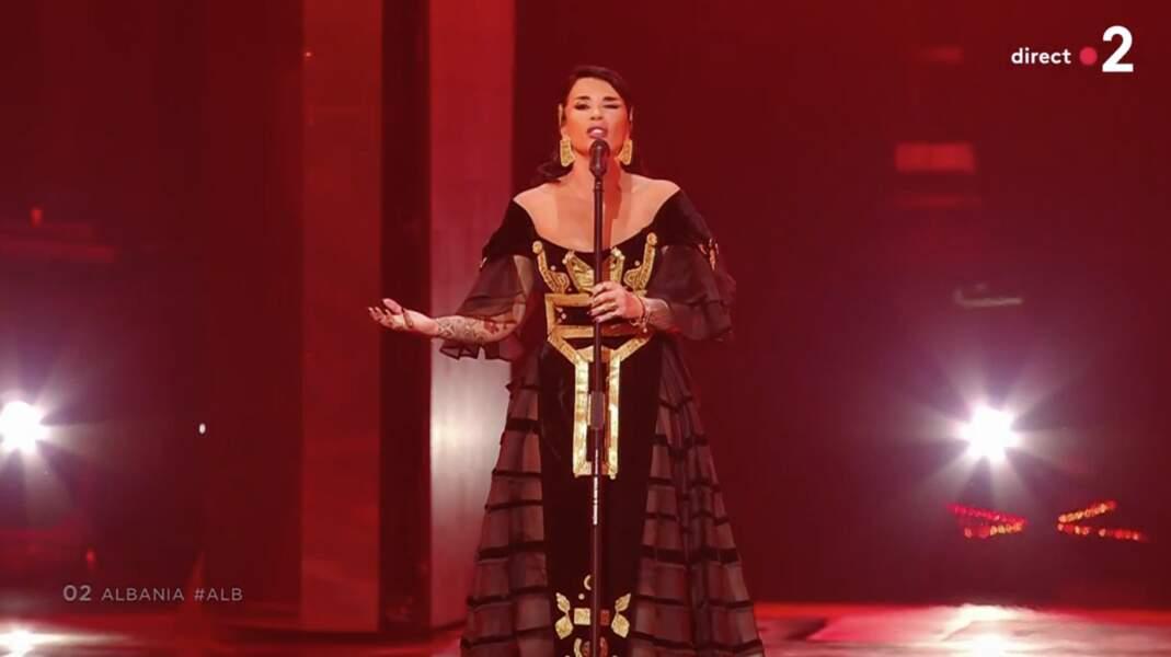 Jonida Maliqi pour l'Albanie