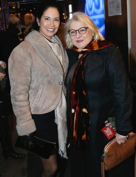 Josiane Balasko et une amie