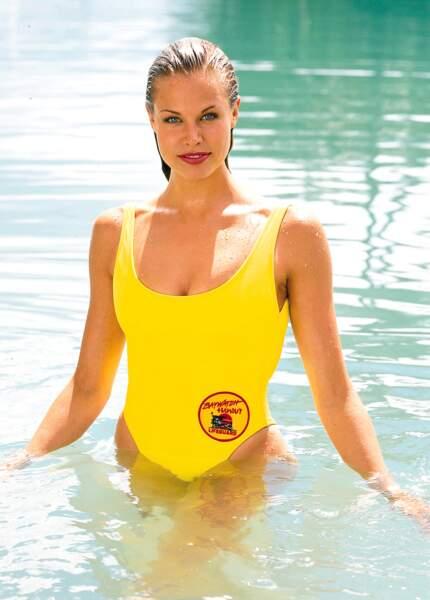 Brooke Burns à l'époque où elle jouait le rôle de Jessie Owens dans Alerte à Malibu