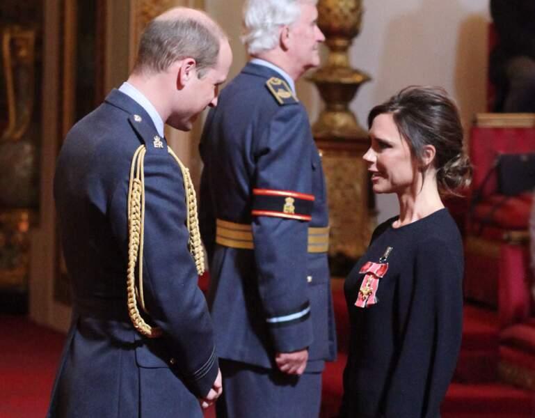 Victoria Beckham n'a pas su garder sa poker face devant le prince William