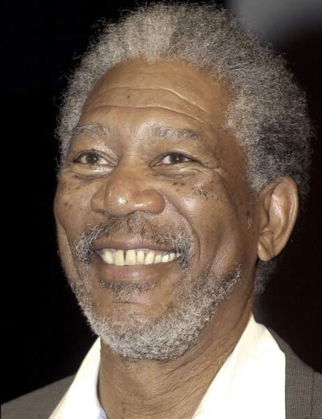 Morgan Freeman en 2003...