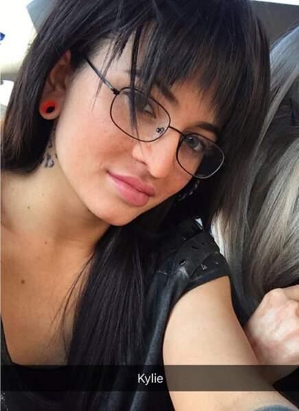 Kylie Jenner, la petite fille un peu geek