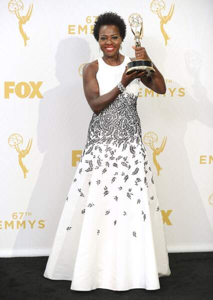 Viola Davis, victorieuse et superbe