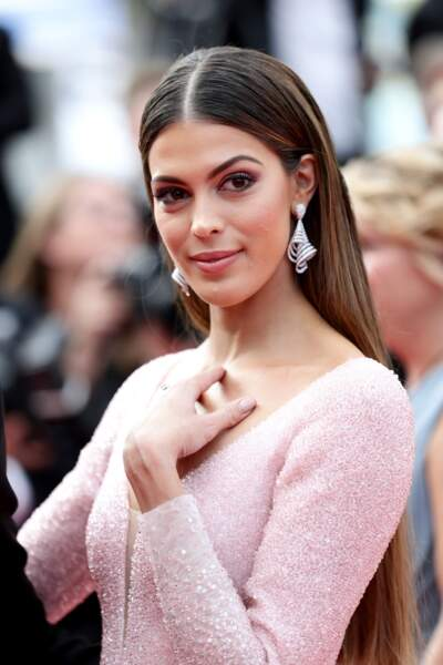 Iris Mittenaere au Festival de Cannes 2019