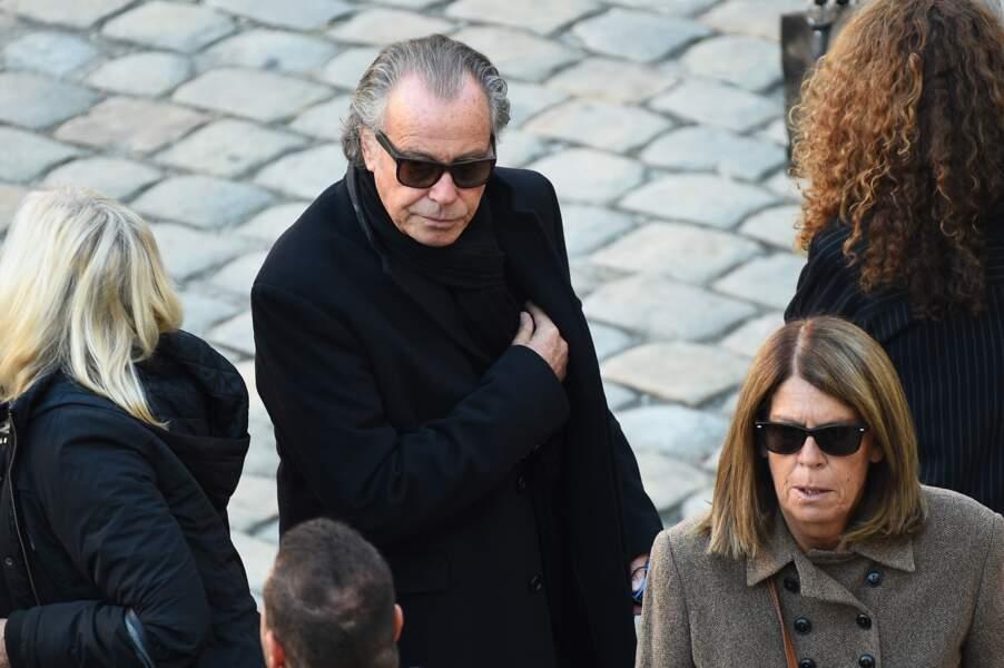 Michel Leeb à l'hommage national à Charles Aznavour