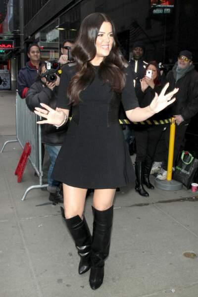 Avant-après ces stars qui ont perdu du poids - Khloé Kardashian avant