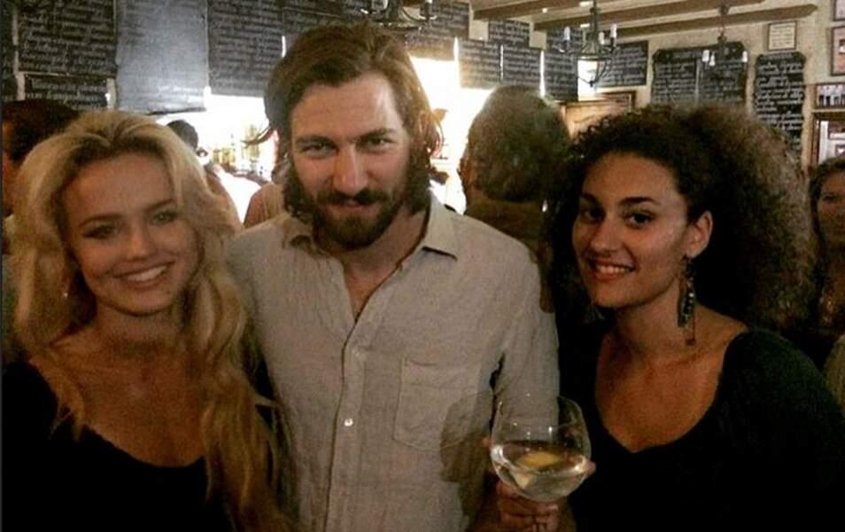 A l'anniversaire d'Emilia Clarke avec l'interprète de Daario Naharis