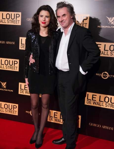 L'écrivain Jean-Christophe Grangé et une amie