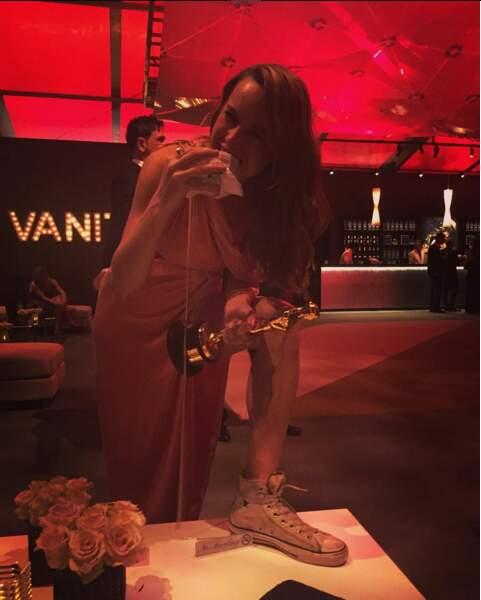 Brie Larson : même avec un Oscar, elle ne renonce pas aux Converse et aux sandwichs gras