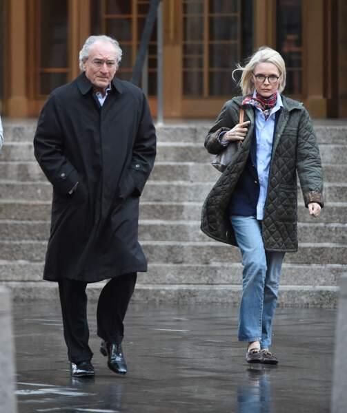 Michelle Pfeiffer et Robert DeNiro incarnant un couple Madoff plus vrai que nature