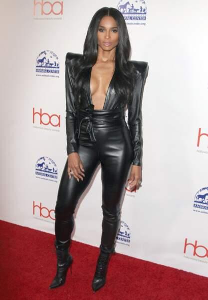 Ciara aux Hollywood Beauty Awards