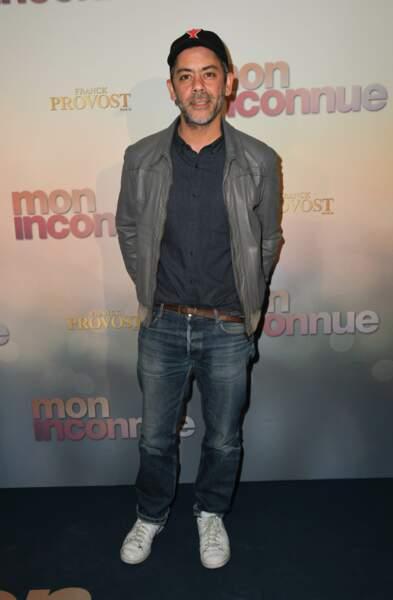 Manu Payet à l'avant-première de Mon Inconnue, le 1er avril, à Paris
