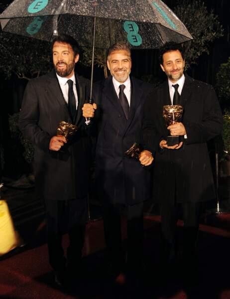 George Clooney, qui a produit Argo, partage son bonheur avec Ben Affleck