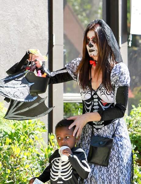 Sandra Bullock et son fils Louis