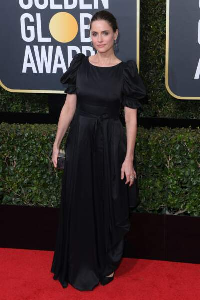 Amanda Peet lors de la 75e cérémonie des Golden Globes, le 7 janvier 2018