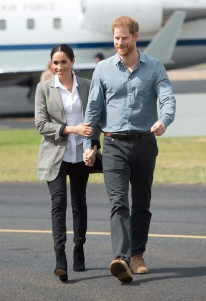 Meghan Markle et le prince Harry sont arrivés en Australie