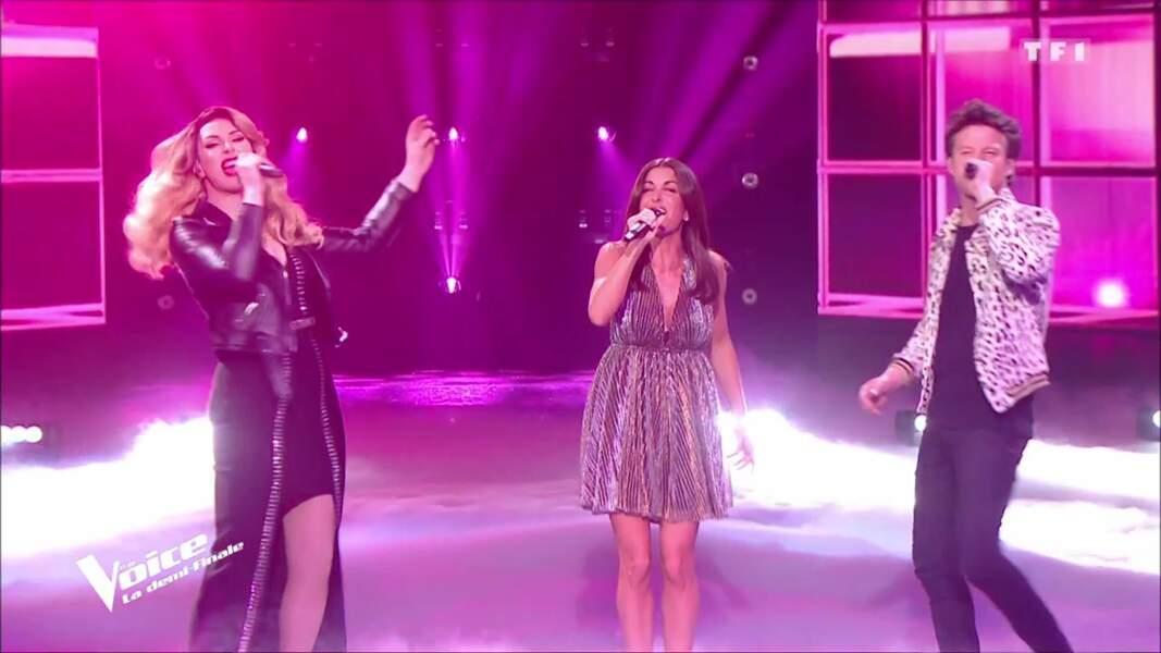 La robe de Jenifer pour la demi-finale de The Voice 8