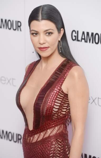 Kourtney Kardashian aux Glamour Awards