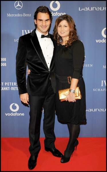 Ces stars parents de jumeaux : Roger Federer et sa femme Mirka