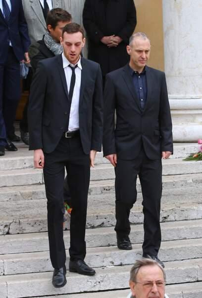 Quentin et Guy Muffat, le frère et le papa de Camille