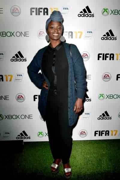 Soirée de lancement FIFA 2017 : Aïssa Maïga