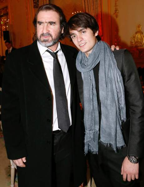 Eric Cantona et Alain-Fabien Delon