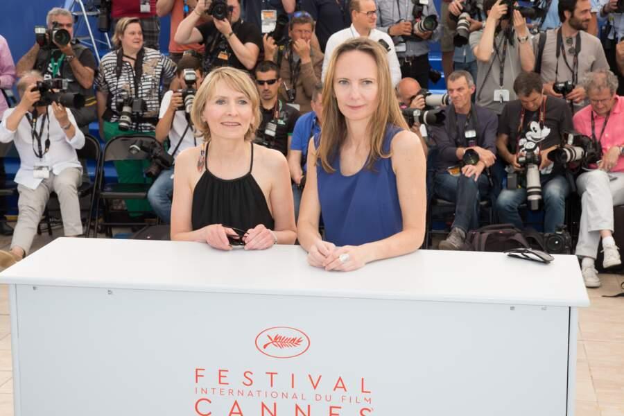 Les réalisatrices du film, Delphine et Muriel Coulin, ont aussi pris la pose
