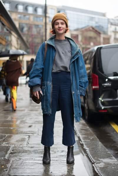 Les do et les don'ts de la semaine : Une invitée à la sortie du défilé Vivienne Westwood