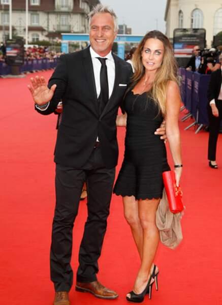 David Ginola et sa femme