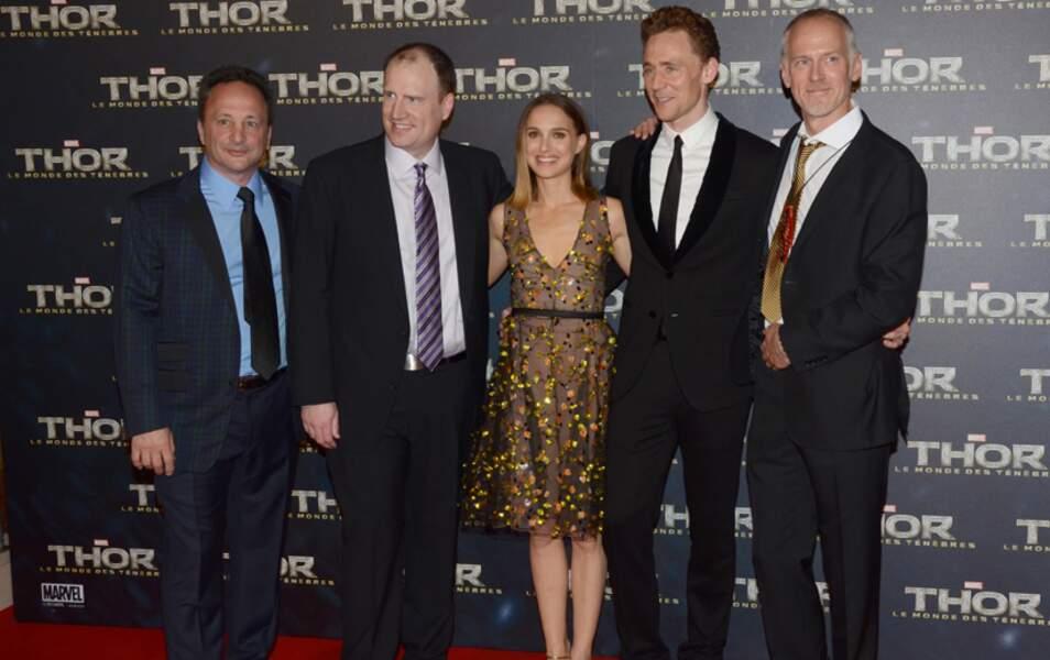 L'équipe de Thor à Paris pour l'avant-première... sans Chris Hemsworth, alias Thor !