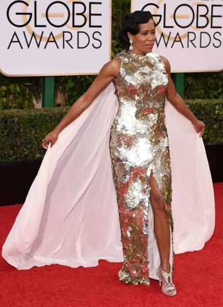 """Regina King """"Golden Globes, c'était le nom de la soirée, pas le dress code…"""""""