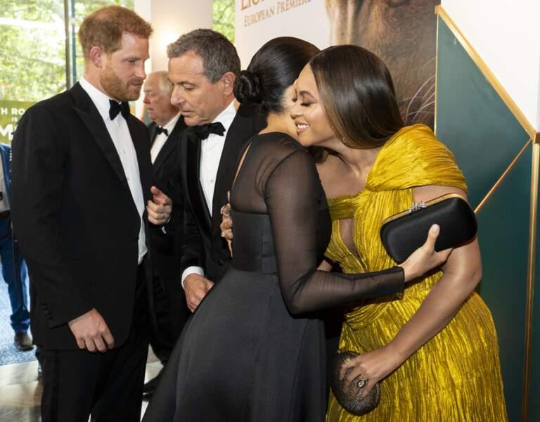 Meghan et Harry rencontrent Beyoncé et Jay Z