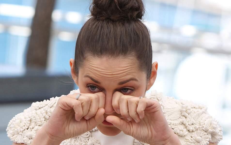 Le best-of des grimaces : Marion Cotillard