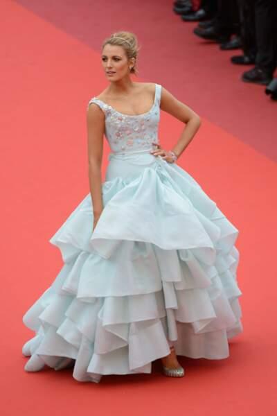 Cannes 2016: Blake Lively dans sa robe de Cendrillon signée Vivienne Westwood. Une vraie princesse!