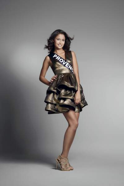 Miss Provence : Noemie Mazella – 19 ans