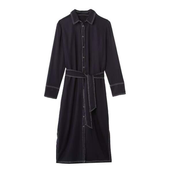 Robe chemise ceinturée, La Redoute, 39,99€