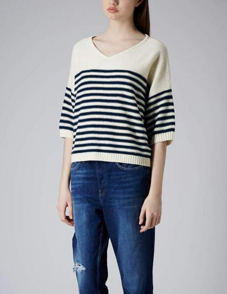 Pull Topshop : 50€